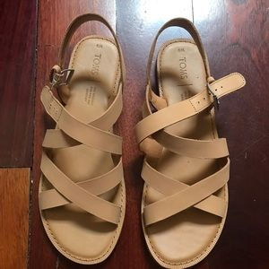 TOMS Sicily sandals women's size 9M